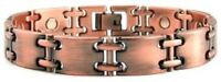 ARTHRITIS COPPER HIGH POWER MAGNETIC BRACELET MAGNET EVERY LINK MBC118