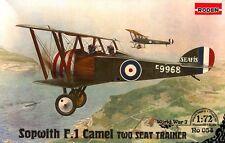 SOPWITH F1 CAMEL TRAINER (BRITISH RFC MARKINGS) 1/72 RODEN