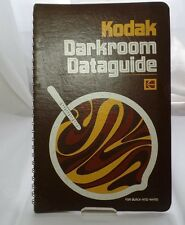 Kodak Darkroom Dataguide Book 1977 5th Edtion Black and White Photography
