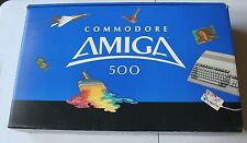 Vintage Commadore 500 A500 Amiga Computer w/ Original Box Packing Super Rare VTG