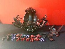 Trendmasters Lot War Planets Beast Tank Scorpizoid Playset + Figures Loose EUC