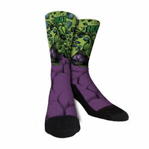 Hulk Custom novelty Socks Marvel