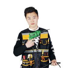 Framer Plumber Craftman Construction Pouch Bag Electrician Carpenter Tool Vest