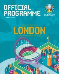 * EURO 2020 OFFICIAL TOURNAMENT PROGRAMME - LONDON EDITION (JUNE/JULY 2021) *