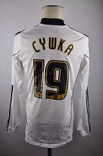 Derby County maillot #19 cywka 2010-11 Taille M Adidas FC Blanc Jersey