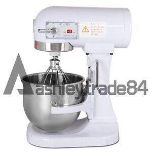 5L Household Food Dough Mixer Egg Beater Bakery Dough Mixing Machine 220V