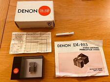 Denon DL-103 Phonocapteur Stereo Made in japan  MC Phono Cartridge
