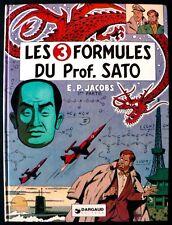 Blake et Mortimer - Les 3 Formules du Prof. Sato - E. P. Jacobs - 1977 - EO
