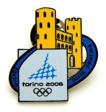 Pin Spilla Olimpiadi Torino 2006 - Monumenti Porte Palatine