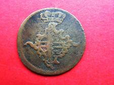 SACHSEN Weimar Eisenach 3 Gute Pfennig 1760 Anna Amalia (1758-1775)