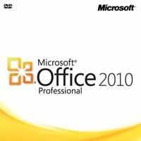 Microsoft Office 2010 Professional (Retail) (2 Computer/s) - With Media Disc