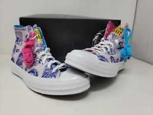 China Town Market X Converse Chuck 70 HI Mouse WHT PUR Sneakers Mens Sz 9.5 NWB