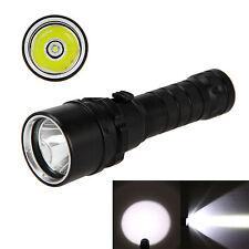 Recargable 2500LM XM-L T6 LED Buceo Linterna antorcha lámpara de luz impermeable