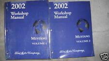 2002 FORD MUSTANG Gt Cobra Mach Service Shop Workshop Manual Set OEM