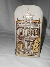 Counterpoint stoneware vase wall pocket