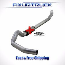 "Diamond Eye 5"" Straight Pipe Exhaust For 04.5-07 Dodge Diesel 5.9L K5238A-RP"