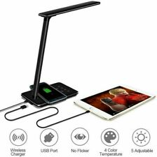 Arista LED Desk Lamp Wireless Charger for iPhone/Samsung/All Qi Enabled Phones