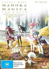 Puella Magi Madoka Magica the Movie: Part 1 Beginnings NEW R4 DVD