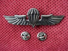 SERBIA - ARMY OF REPUBLIC OF SERBIA -  PARACHUTERS BREAST BADGE WITH NUMBER