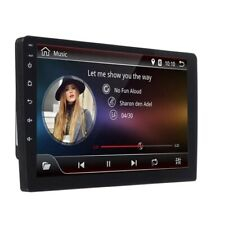 STEREO AUTORADIO MONITOR 2 DIN ANDROID 8.1 9 POLLICI WIFI CAR RADIO GPS MP5 USB