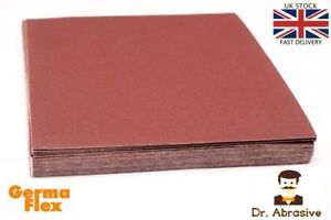 Emery Cloth Abrasive Sandpaper Sheets Sand Paper Aluminium Oxide Grit P40-P400