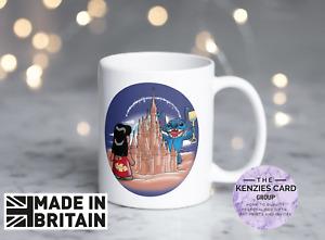 Personalised Disney's Lilo and Stitch Disney Sand Castle Cinderella's Castle Mug