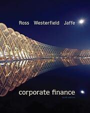 ROSS WESTERFIELD JAFFE 10e Corporate Finance INTERNATIONAL EDITION
