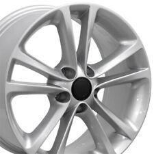 "NPP Fit 17"" Wheels Volkswagen GTI EOS Passat CC Jetta VW Silver 69888 SET"
