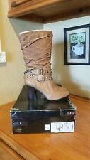 NIB Ladies a.n.a Leather Boots Size 8