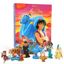 Disney ALADDIN My Busy Book, Map, 10 Figures
