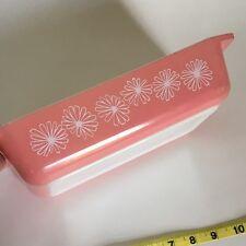 Pink Daisies Pyrex 2 Quart Casserole Dish # 575-B