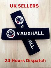 2 Seat Belt Shoulder Cover Pad VAUXHALL tigra corsa astra vectra zafira vxr