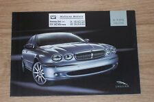 2004 brochure JAGUAR X-Type Singapore