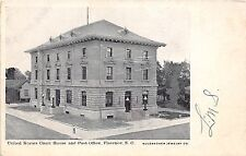 B51/ Florence South Carolina SC Postcard c1910 US Court House Post Office