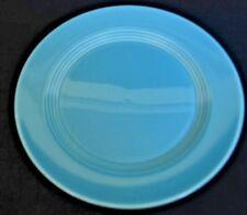 "Harlequin Vintage Turquoise Blue Dinner Plate 10"" Fiestaware Homer Laughlin EXC~"