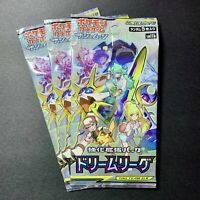 1 Booster Pack - Sealed Pokémon Dream League SM11b Japanese Cards * US Seller *