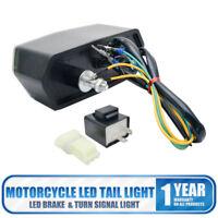 Motorcycle LED Brake Tail Light Integrated Turn Signal For Honda Grom MSX 125