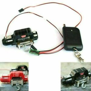 For t4 D90 SCX10 TRX-4 1/10 RC Crawler Winch With Automatic Control System Kit