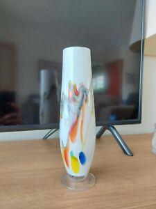 BEAUTIFUL VINTAGE GLASS VASE
