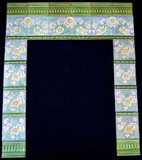 GERMANY ANTIQUE ART NOUVEAU 34 ORIGINAL TILES FOR FIREPLACE c1900