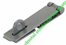 Placa y cerradura resistente Silverline 30 X 90 mm