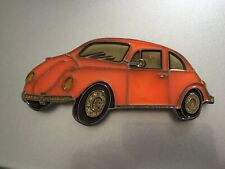 More details for stained glass vw beetle suncatcher or illuminated vintage used rare free post