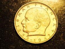 """2 DM moneta commemorativa """"Max Planck"""" di 1970 F"""