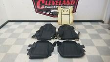 2012 Mustang Shelby GT500 Convertible OEM Front Seat Leather Covers Black RECARO