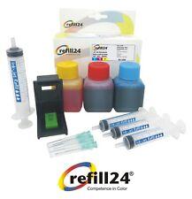 Kit de Recarga para Cartuchos de Tinta HP 302, 302 XL Color + 150 ML Tinta
