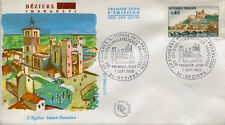 FRANCE FDC - 657 1567 1 BEZIERS - 7 Septembre 1968