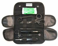 17 Piece First Responder Tactical Kit Shears EMT/Scissors Combo Pack with Holste