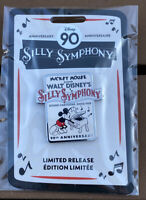 Mickey Mouse Walt Disney's Silly Symphony Pin 90th Anniversary Limited Release