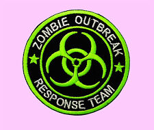 Zombie Outbreak Response Team Tactical Hunter Green Embroidered Iron On Patches