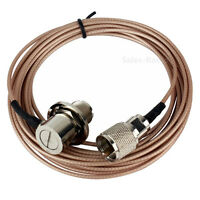 5m/16.4ft Low Loss Coaxial Feeder Cable RG-316 Ham Amateur Radio Antenna QYT TYT